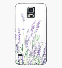 purple lavender  Case/Skin for Samsung Galaxy