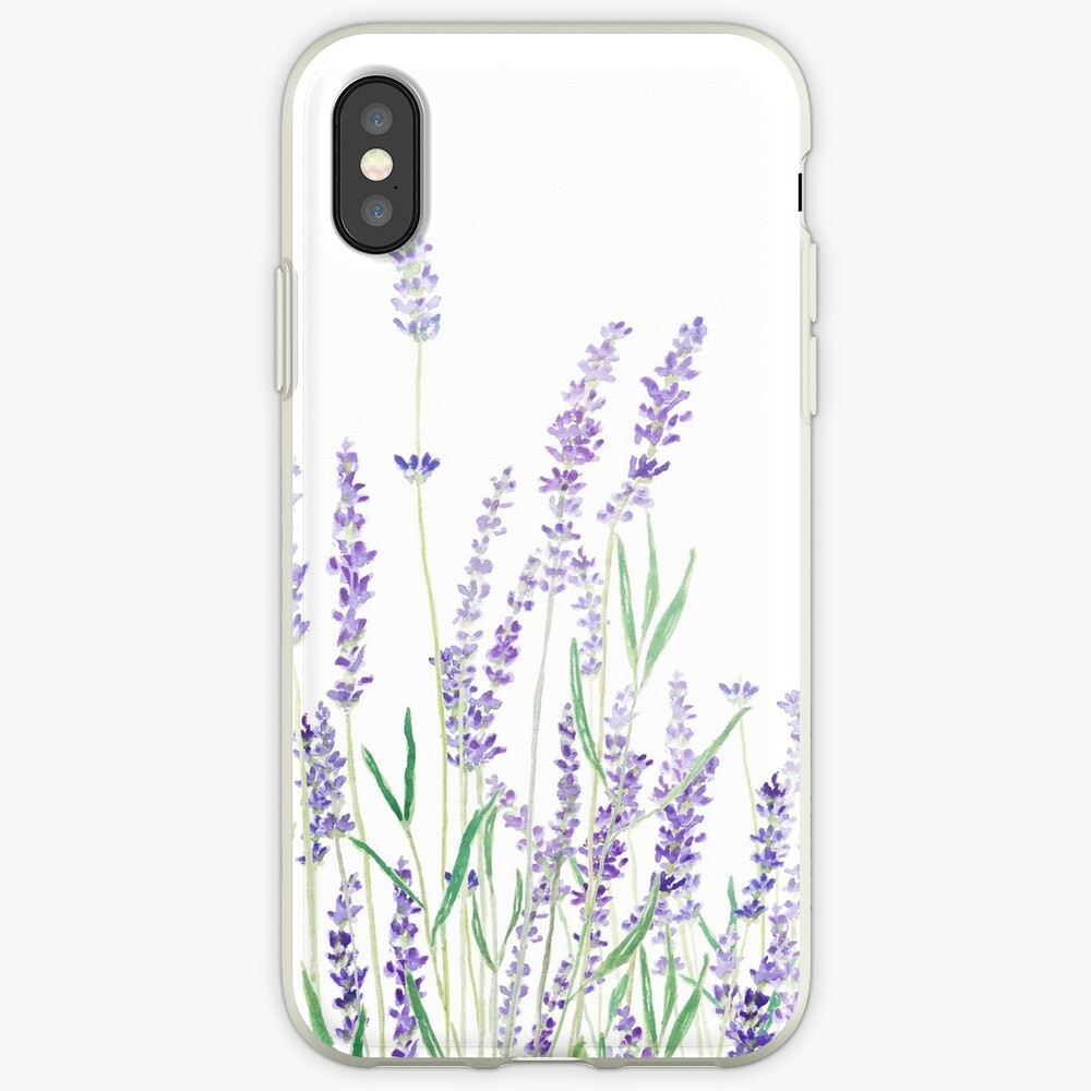 purple lavender  iPhone Case & Cover