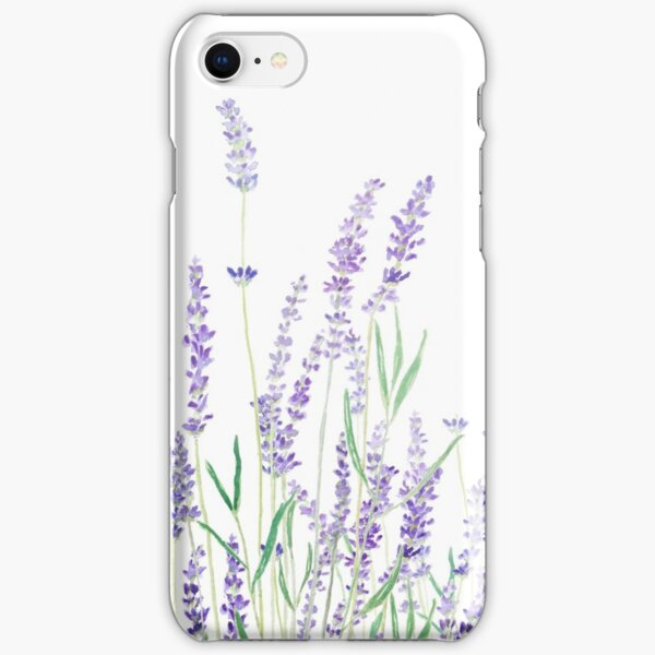 purple lavender  iPhone Snap Case