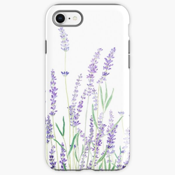 purple lavender  iPhone Tough Case