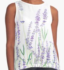 lila Lavendel Ärmelloses Top