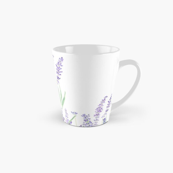 purple lavender  Tall Mug