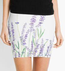 lila Lavendel Minirock