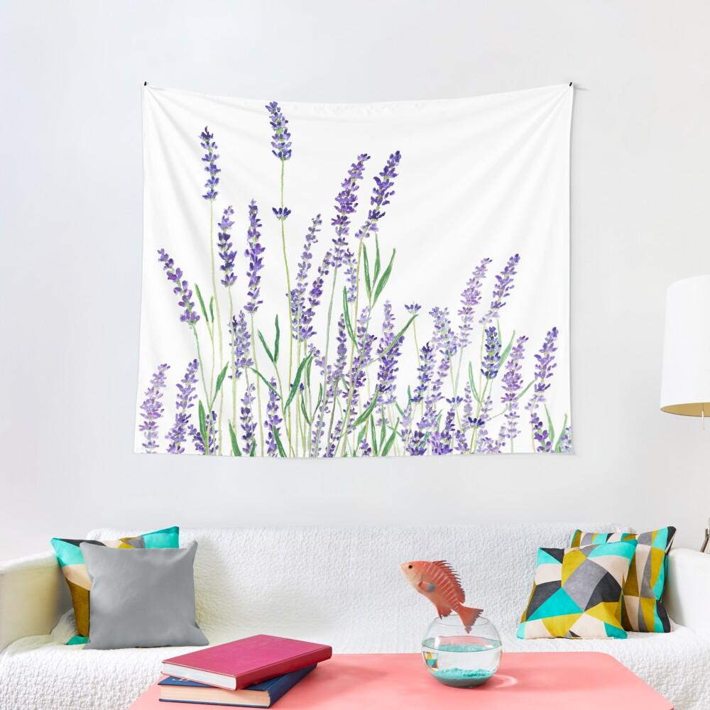 purple lavender  Tapestry