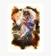 League of Legends ELEMENTALIST LUX Art Print