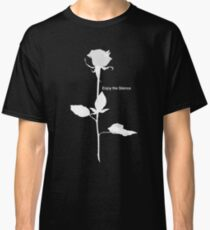 Enjoy the Silence style Rose white Classic T-Shirt