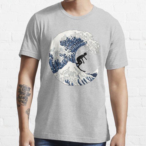 Surf/'s Up Samoan Islands Beach Heather Grey Juniors Soft T-Shirt