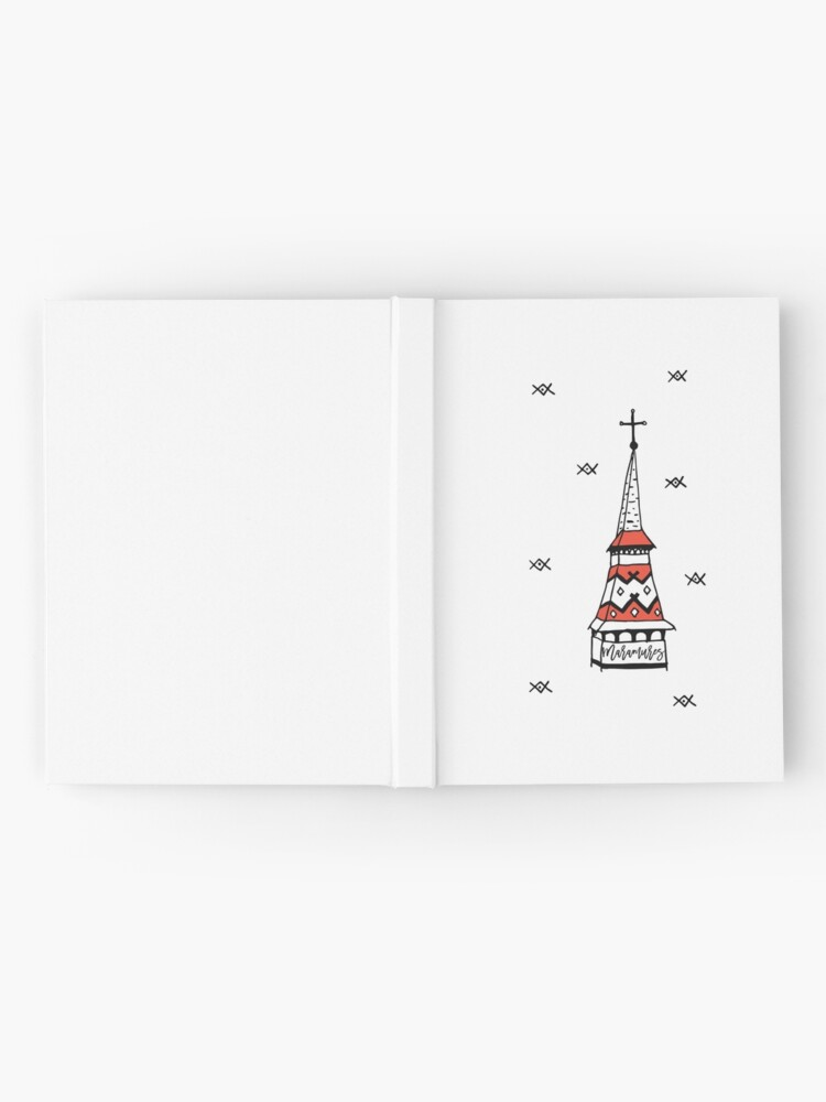 Alternate view of Little monastery in Maramures Hardcover Journal