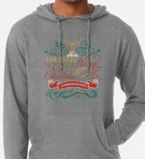 Have Yourself A Merry Little Christmas Love Typography Lightweight Hoodie
