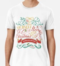 Have Yourself A Merry Little Christmas Love Typography Premium T-Shirt