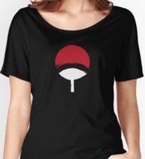 Uchiha Clan logo  Women's Relaxed Fit T-Shirt