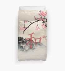 peace in Japan Duvet Cover