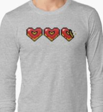 Pixel Doughnut Hearts T-Shirt