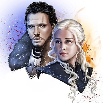 Jon and Dany by Tsuyoshi