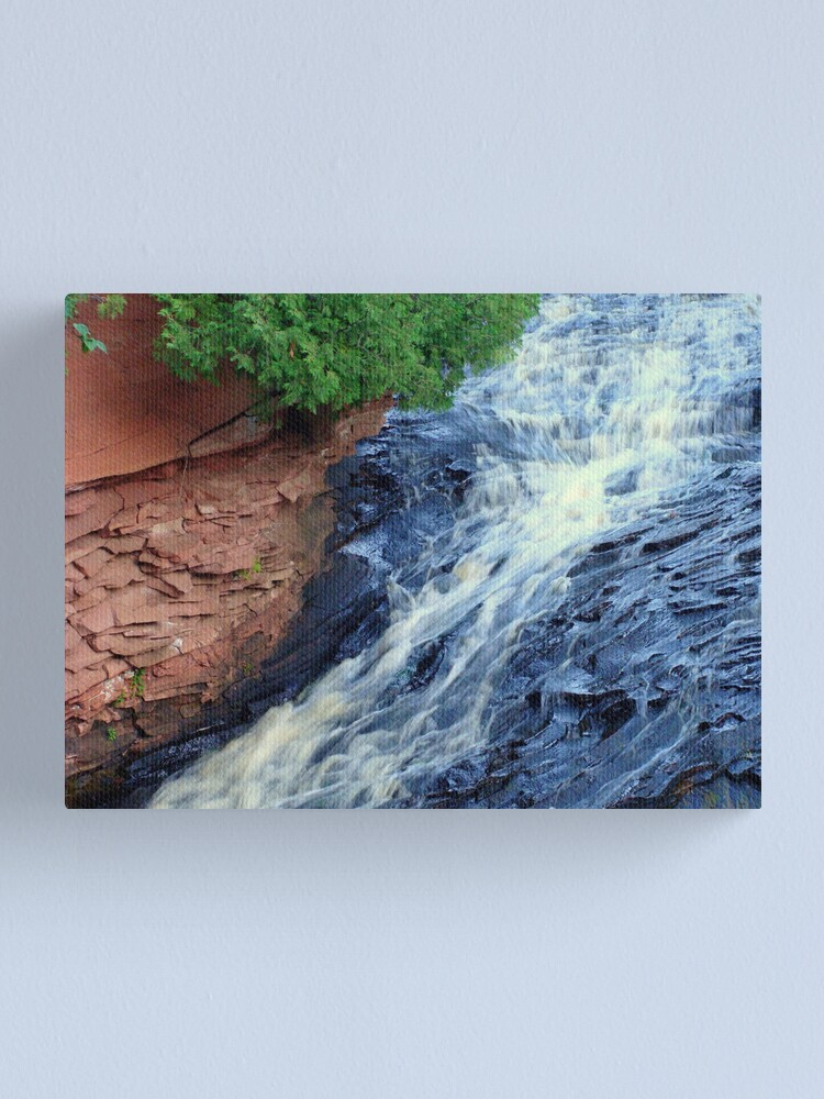 Alternate view of Channel Your Beauty Canvas Print