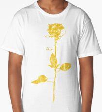 Halo Rose (distressed) Long T-Shirt