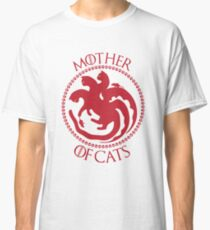 Mother Of Cats. Cat Lovers T-Shirt Classic T-Shirt
