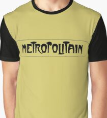 Metropolitain, Subway Sign, Paris, France Graphic T-Shirt