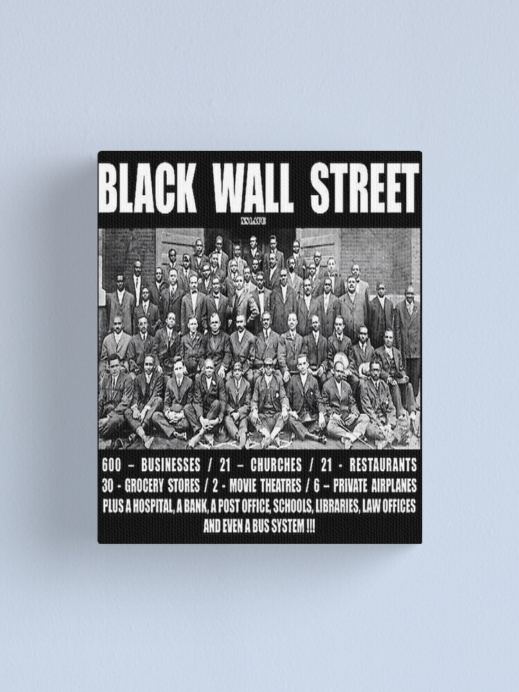 Alternate view of Black Wall Street Canvas Print