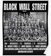 Black Wall Street Poster