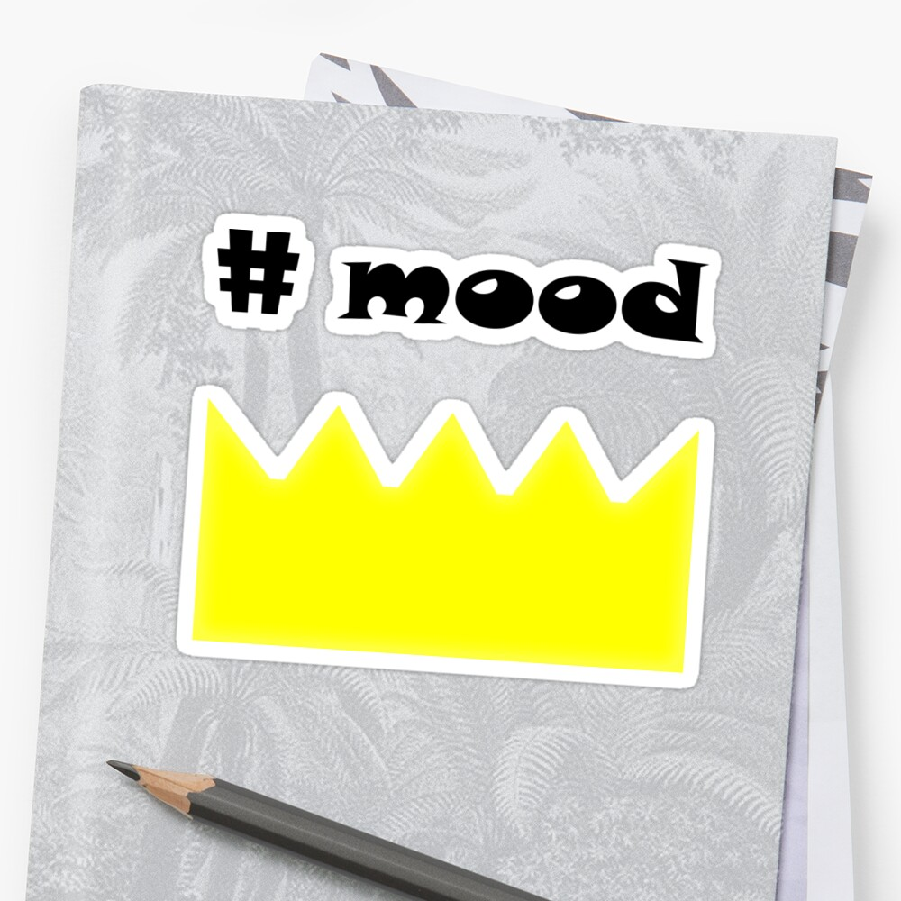 Crown mood queen king hashtag by kerens