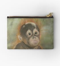 "Orangutan Baby ""not amused"" Studio Clutch"