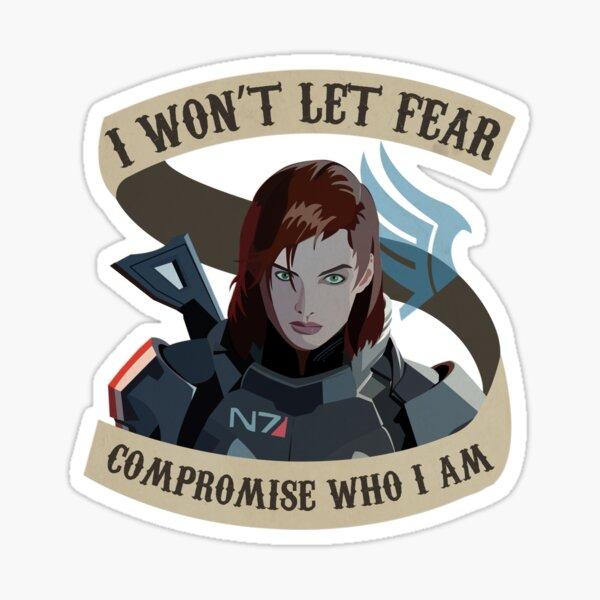 Paragon Shepard Mass Effect Sticker