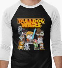 Bulldog Wars Men's Baseball ¾ T-Shirt