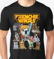 FRENCHIE WARS Unisex T-Shirt