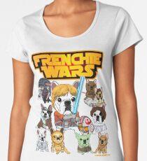 FRENCHIE WARS Women's Premium T-Shirt