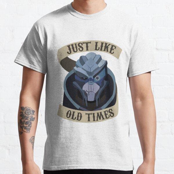 Garrus Vakarian Mass Effect Classic T-Shirt