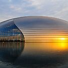 Beijing National Theater by Chad  Walker
