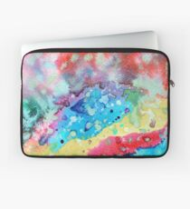 Figurative, abstract landscape Laptop Sleeve