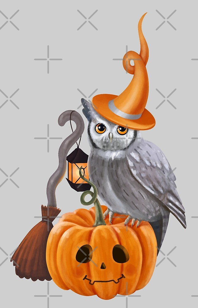 Owl Halloween by Elena Naylor