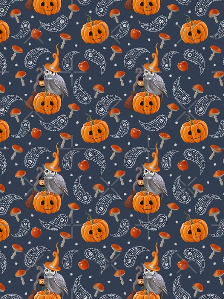 Owl Halloween by Elenanaylor