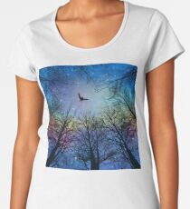 Wisdom Of The Night - Colorful Women's Premium T-Shirt
