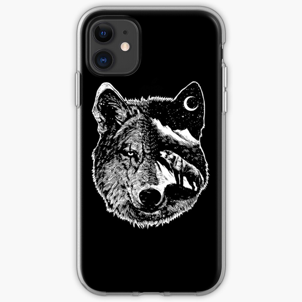 Wolves in the Night iphone 11 case