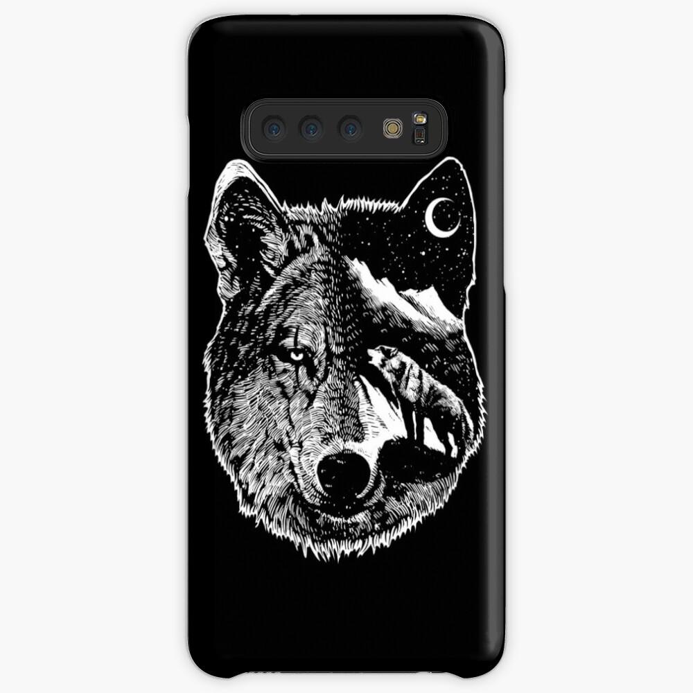 Night wolf Case & Skin for Samsung Galaxy