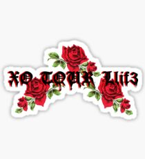 Lil Uzi Vert Xo Tour Llif3 Roses Sticker