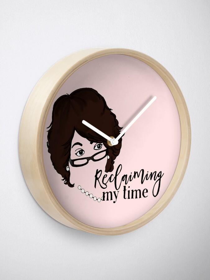 Alternate view of Reclaim Clock