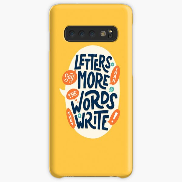 Letters say more than the words they write Samsung Galaxy Snap Case
