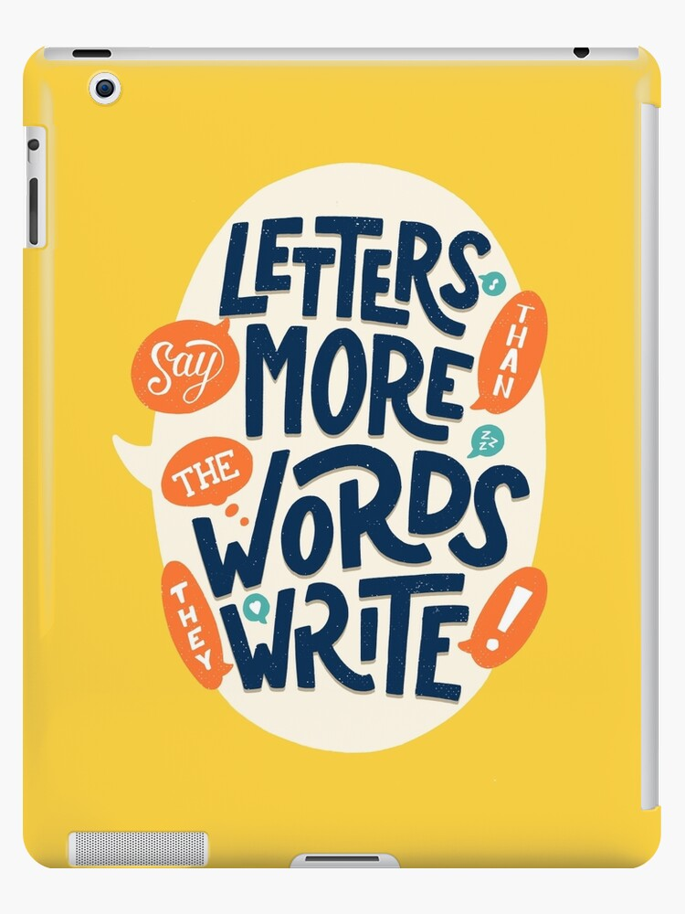 Letters say more than the words they write by Romaric Pascal
