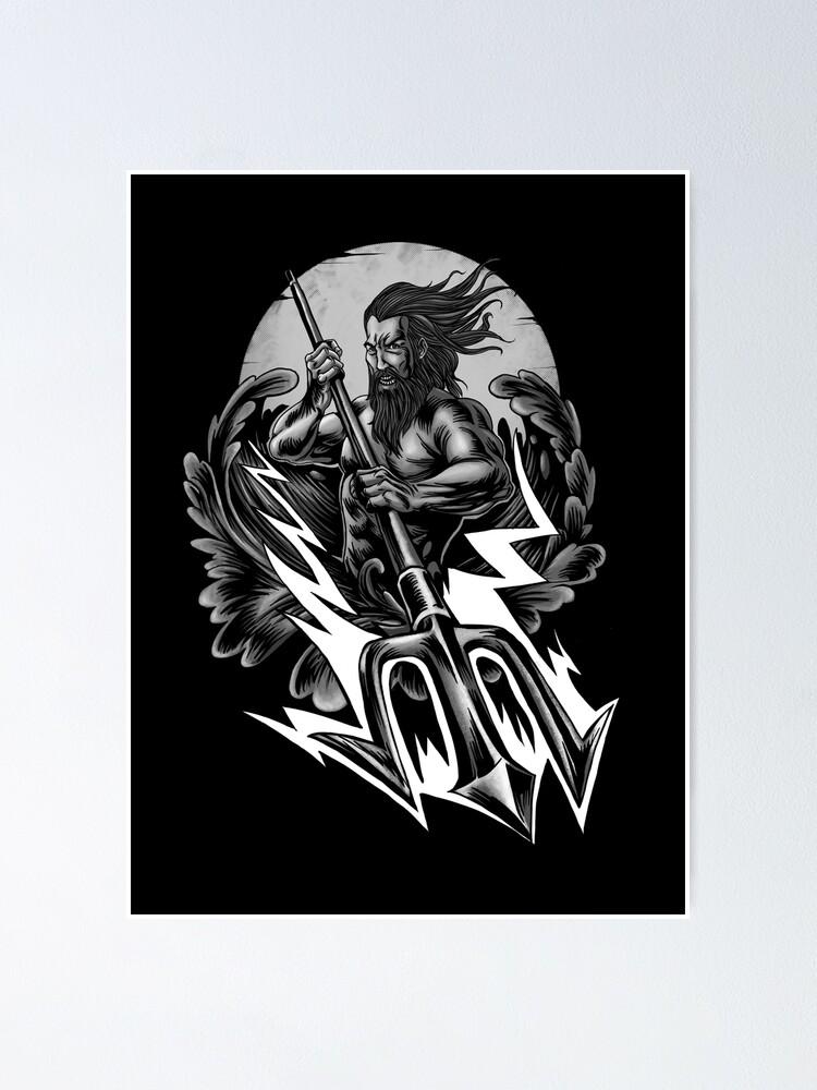 Alternate view of poseidon Poster