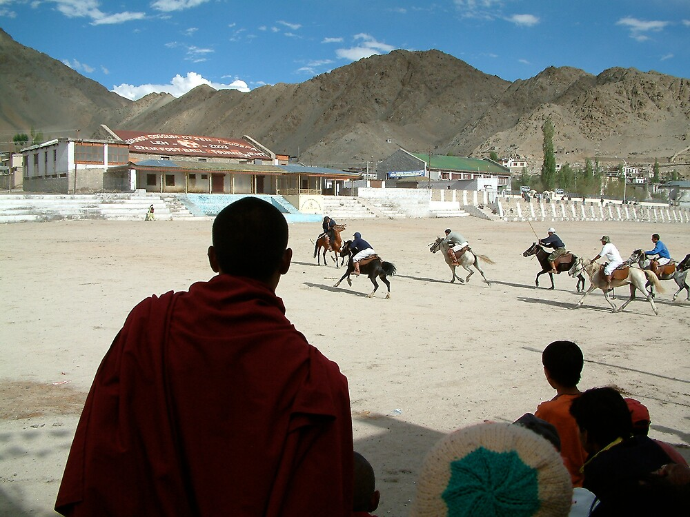 Polo in Leh by Nicole Davies
