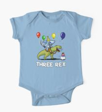 Three Rex Kids 3rd Birthday Shark Riding Dinosaur Kids Clothes