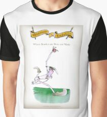 ca45b33e Funny Yorkshire Cricket 'bowlers born not made' Graphic T-Shirt