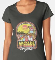 Arcade Wizard Women's Premium T-Shirt
