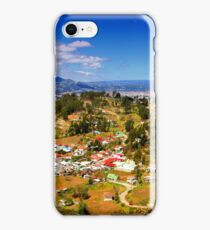Panorama From Pachamama To Cuenca iPhone Case/Skin