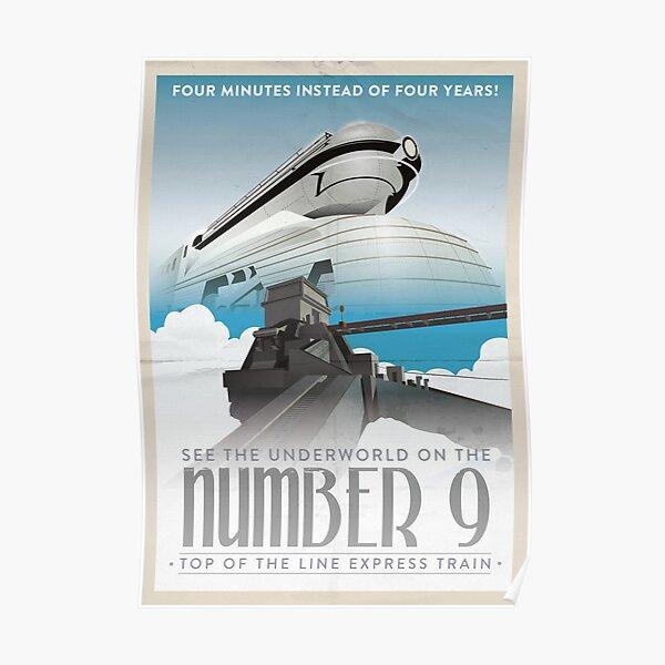Grim Fandango Travel Posters - Number Nine Poster