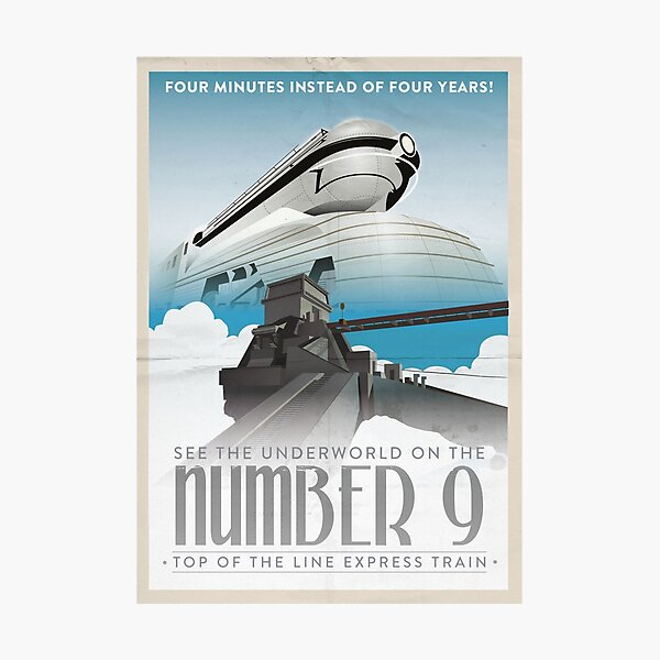 Grim Fandango Travel Posters - Number Nine Photographic Print